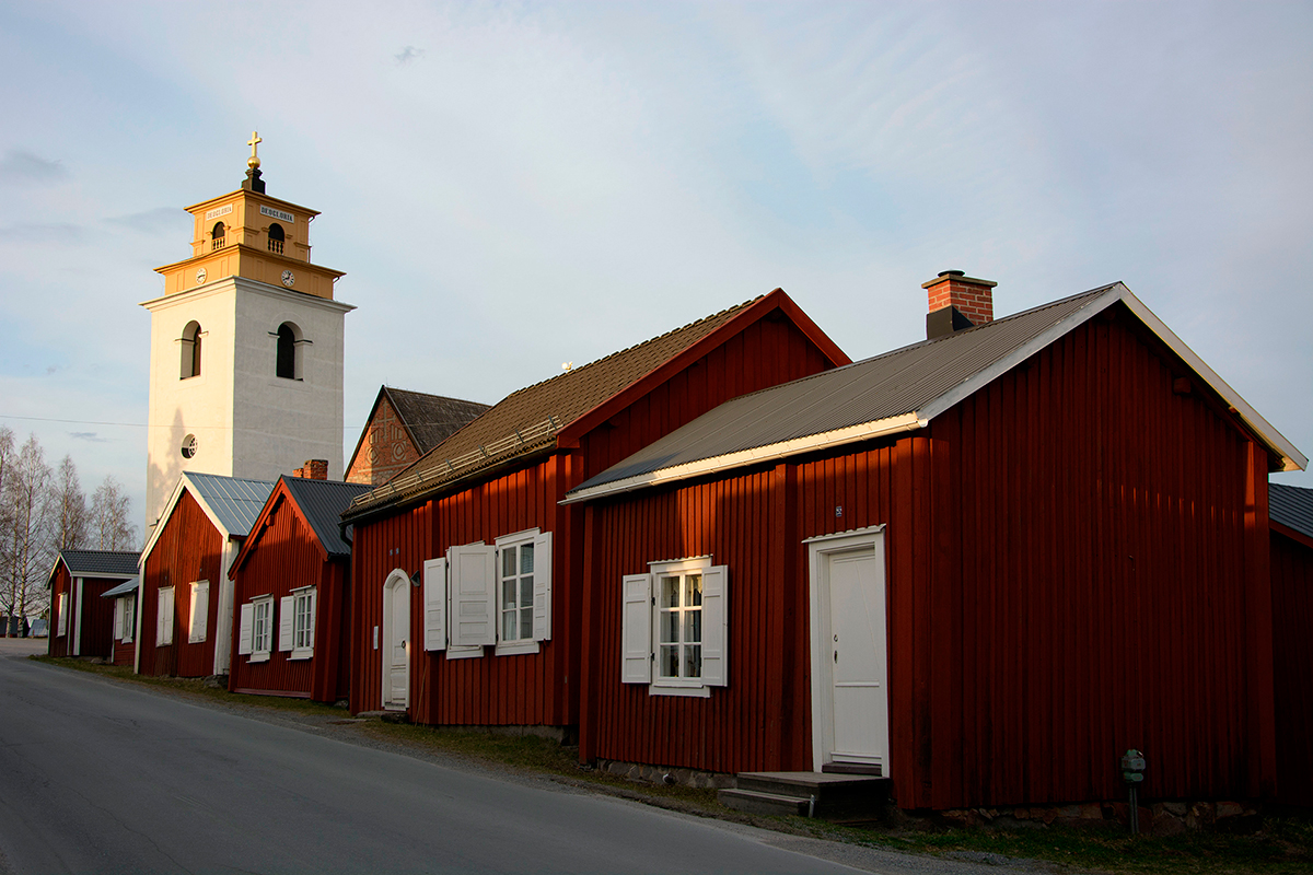 Churchtown, Luleå